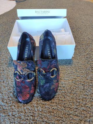 Zapatos Baltarini 36 edición limita terciopelo