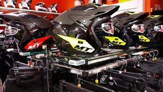 Cascos Trial Moto Con gafas de sol OUTLET