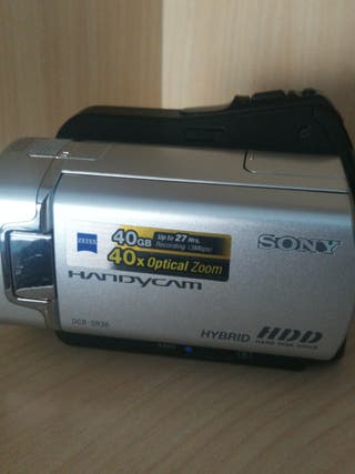 Videocámara cámara Sony