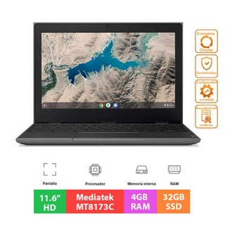 Lenovo ChromeBook 100E MT8173C - 4GB - 32GB - 11.6