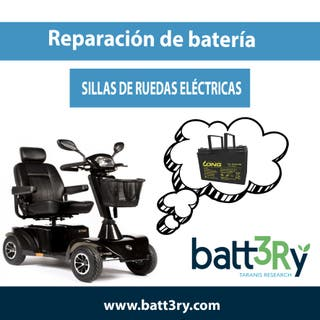 REPARACIÓN BATERÍA - SILLA DE RUEDAS ELÉCTRICA