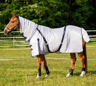 Manta antimosca de verano para caballo