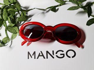 Gafas de sol rojas MANGO