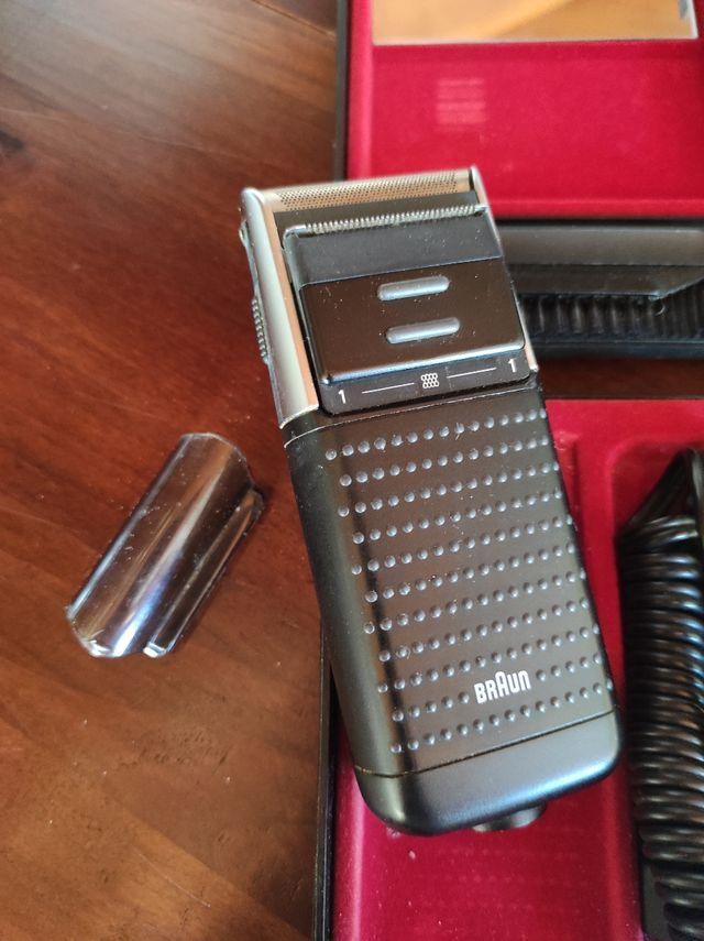 Maquina afeitar Braun, modelo 5420. Funciona