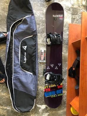 Equipo de Snowboard