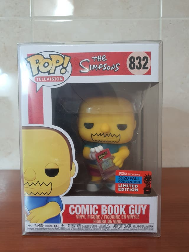 Funko Pop - Comic Book Guy 832 Exclusivo NYCC20