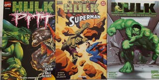 Lote cómics Hulk finales 90 principios 2000