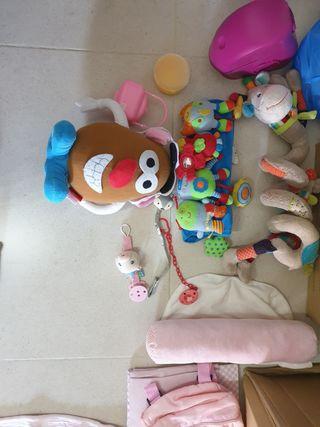 Peluches y accesorios bebé