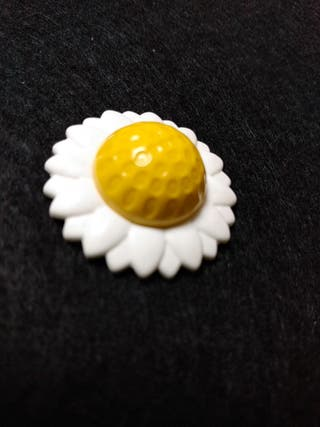 Playmobil, sombrero flor