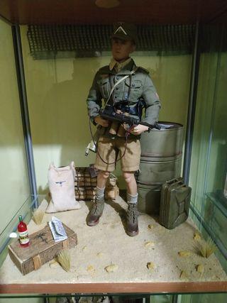 Figura escala 1/6 soldado aleman