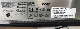 All in one ACER Aspire C24-760 INTEL Core i5-7200U