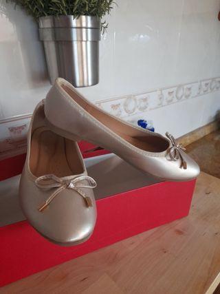 Zapatos bailarinas talla 39
