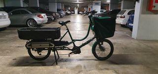 bicicleta eléctrica cargo bike