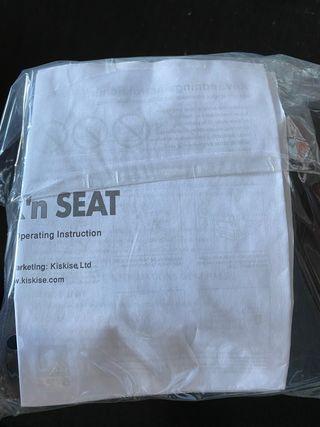 Trona asiento portatil sack'n Seat