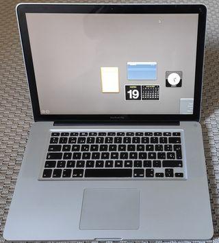 MacBook Pro i7 8Gb RAM Disco SSD 500Gb
