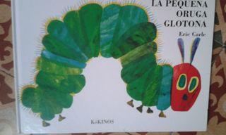 "Libro infantil ""La pequeña oruga glotona"""