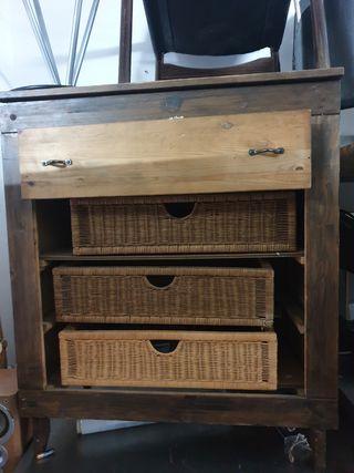 deja wasap mueble recibidor para cubiertos