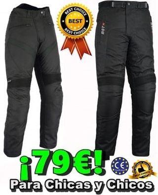 Pantalones para hombre y mujer cordura OUTLET MOTO