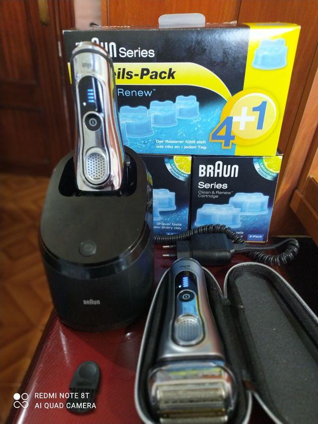 maquina afeitar braun series 9