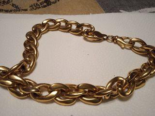 cadena oro maziza 76gr