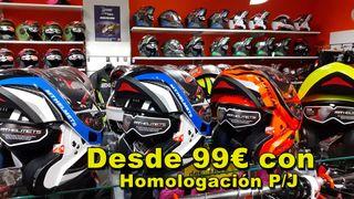 Modulares homologación P/J Cascos Moto OUTLET