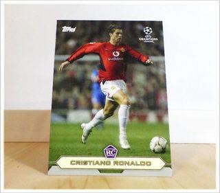 Cristiano Ronaldo Rookie Topps Manchester United