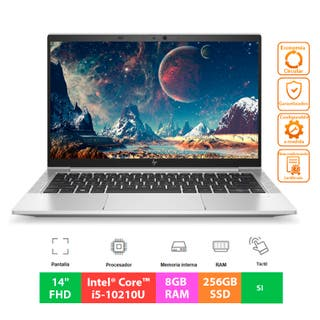 "HP EliteBook 840 G7 WWAN - Core i5 - 14""FHD Táctil"