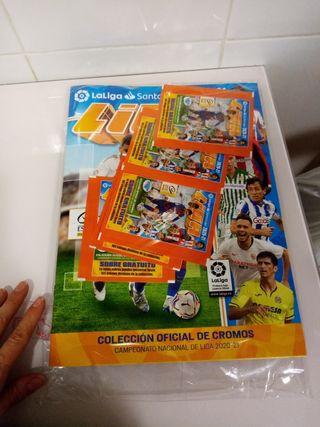 Álbum Campeonato Nacional de Liga 2020-21