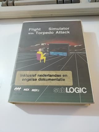 Flight Simulator With Torpedo Attack Msx