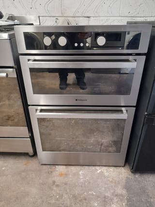 double integrated electrical oven 90×60cm