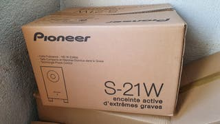 Subwoofer Pioneer S-21W 160W
