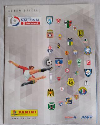 Album completo a pegar Liga Chilena 2017-18
