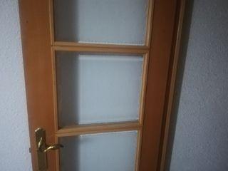 cambio cristales de puerta