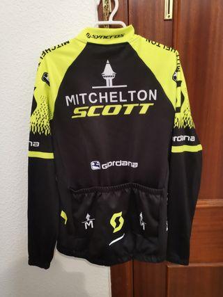 Maillot y culotte Scott Mitchelton