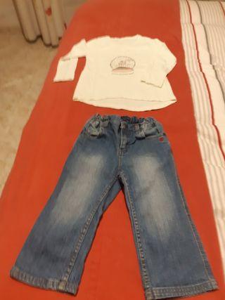 pantalón Tommy Hilfiger y camiseta
