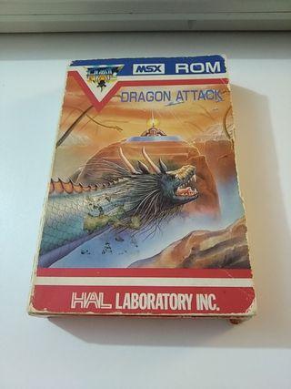 Dragon Attack Msx