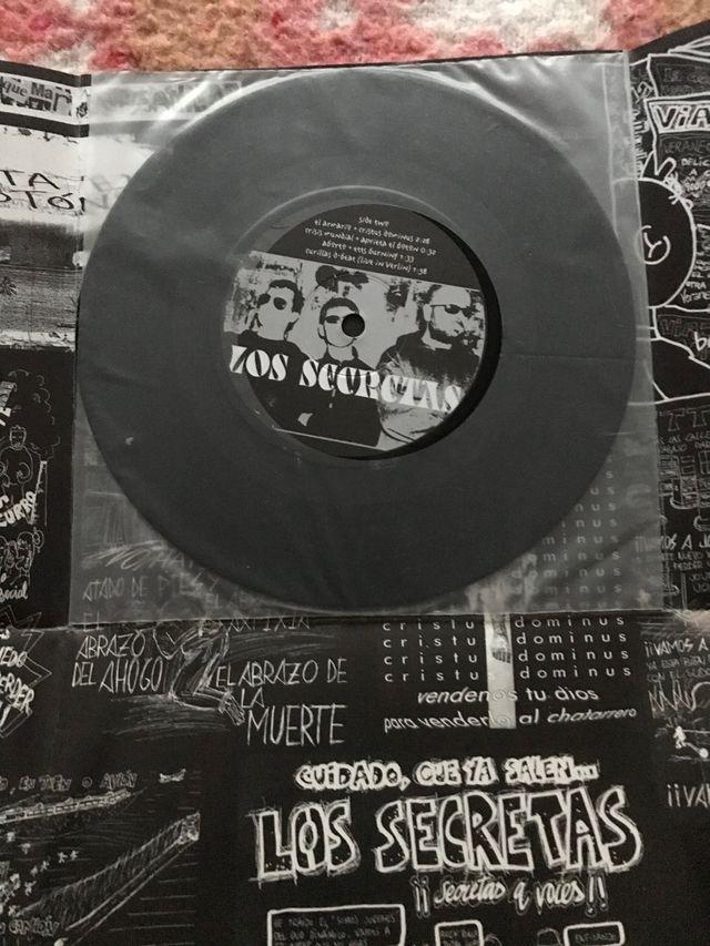 """Disco/vinilo """"Los Secretas"""""""