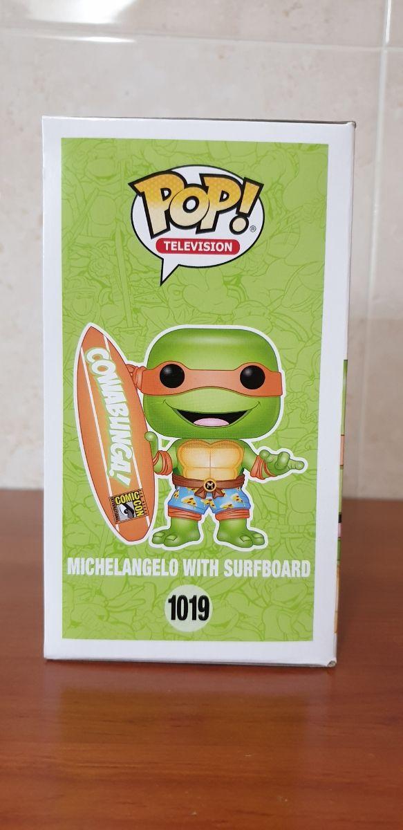 Funko Pop - Michelangelo With Surfboard SDCC20