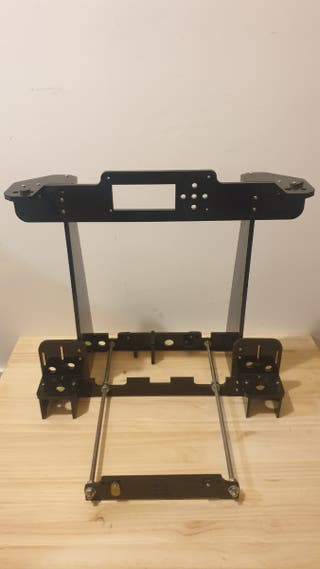 Base acrílico negro Anet A8 impresora 3D