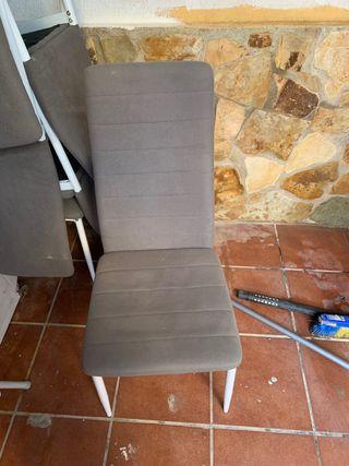 6 sillas de comedor como nuevas