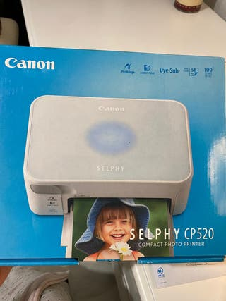 Impresora fotos digital Canon