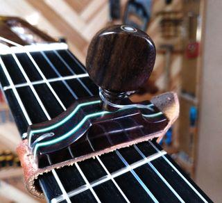 Cejilla Artesanal , Guitarra .Capotraste
