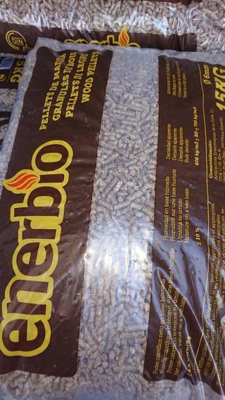 enerbio en sacos de 15 kg