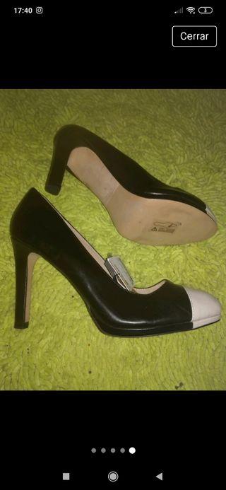 zapatos 100% cuero, nuevos Zara 41