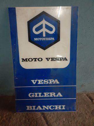 Cartel Moto Vespa