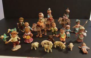 Antiguas figuras PORTAL DE BELEN años 70/80