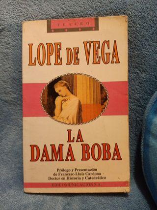 LIBRO LA DAMA BOBA, Lope de Vega