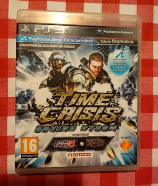 Time crisis razing 3 en 1 Ps3