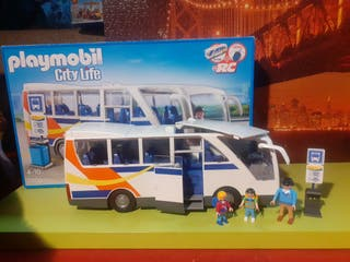 autobús city life playmobil