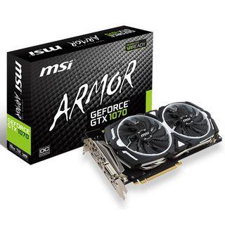 Tarjeta gráfica MSI GeForce GTX 1070 Armor OC